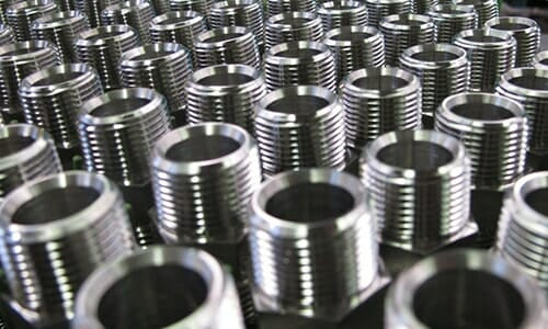 Many tungsten disulfide coated bolts