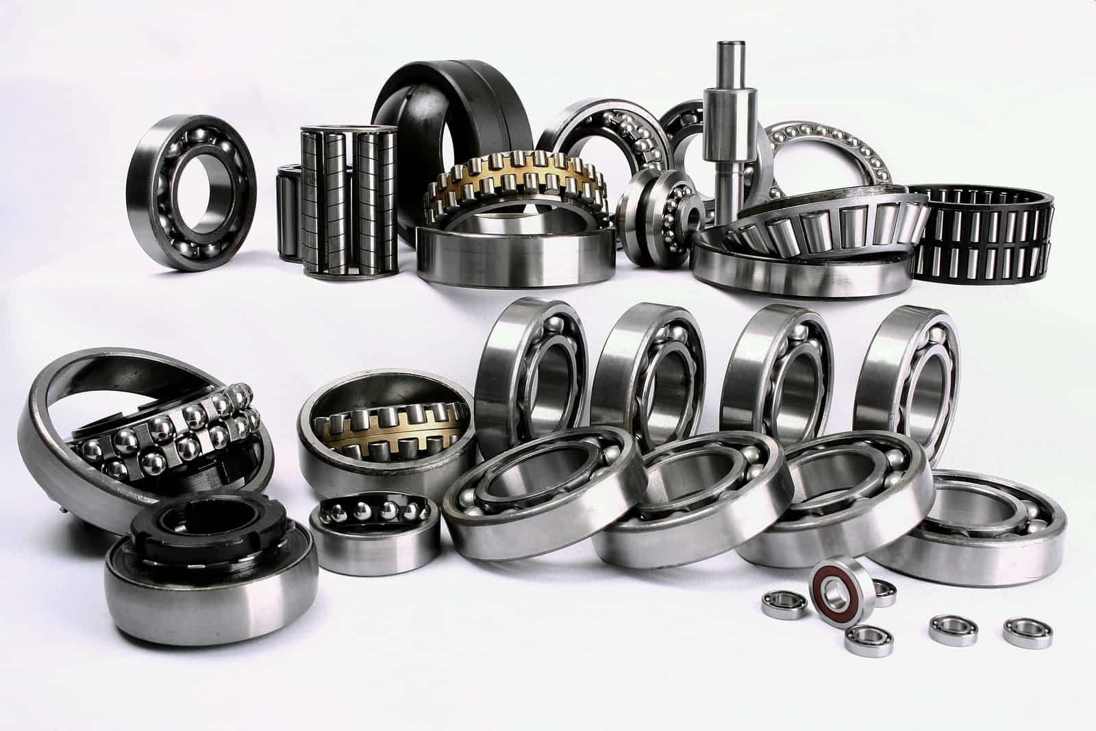 Multiple bearings and parts coated with Dicronite